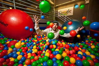 Ball pit of madness. by reelgeek on Flickr.